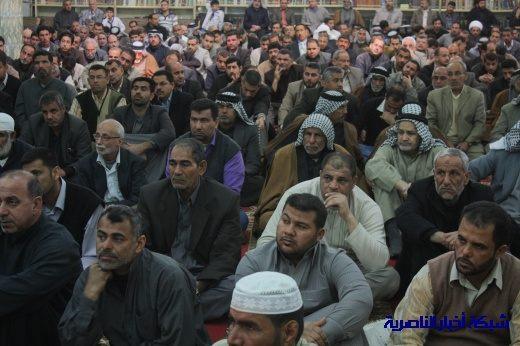 صلاة الجمعة في مدينة الناصرية - تقرير صوتي مصور- Nasiriyah001