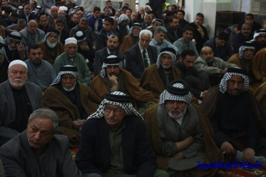 صلاة الجمعة في مدينة الناصرية - تقرير صوتي مصور- Nasiriyah002