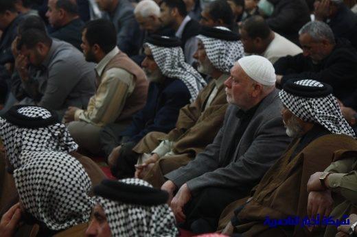 صلاة الجمعة في مدينة الناصرية - تقرير صوتي مصور- Nasiriyah005
