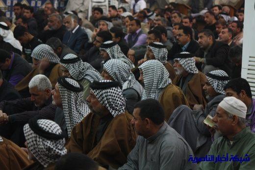 صلاة الجمعة في مدينة الناصرية - تقرير صوتي مصور- Nasiriyah006