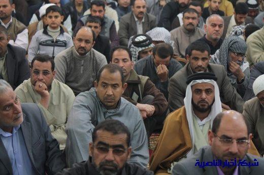 صلاة الجمعة في مدينة الناصرية - تقرير صوتي مصور- Nasiriyah009