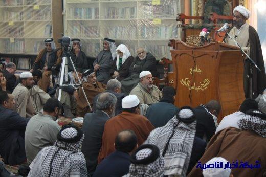 صلاة الجمعة في مدينة الناصرية - تقرير صوتي مصور- Nasiriyah011