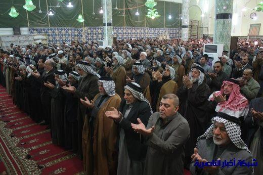 صلاة الجمعة في مدينة الناصرية - تقرير صوتي مصور- Nasiriyah012