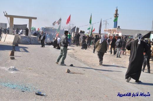 صور حصرية التقطت بعد لحظات من وقوع الانفجار الارهابي في مدينة البطحاء Nasiriyah001