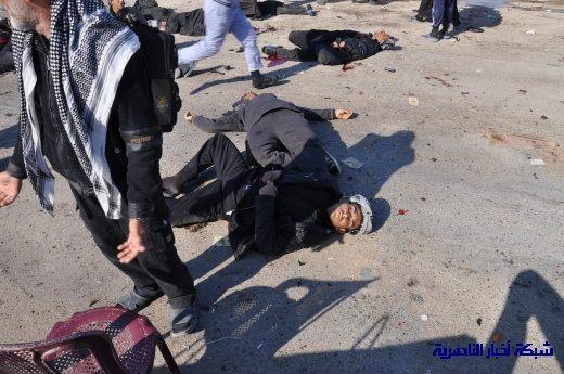 صور حصرية التقطت بعد لحظات من وقوع الانفجار الارهابي في مدينة البطحاء Nasiriyah007