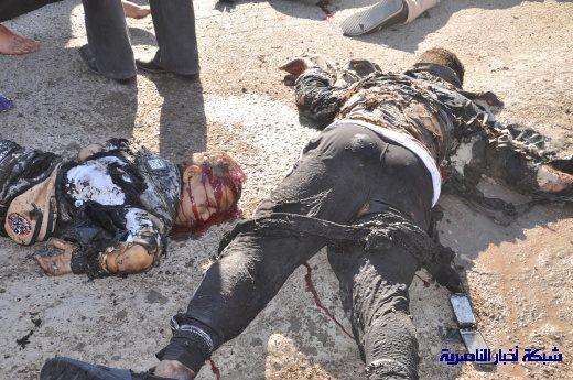 صور حصرية التقطت بعد لحظات من وقوع الانفجار الارهابي في مدينة البطحاء Nasiriyah026