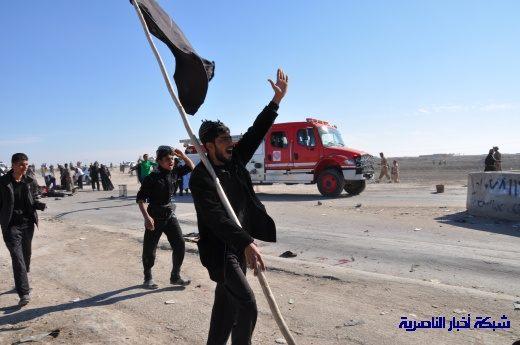 صور حصرية التقطت بعد لحظات من وقوع الانفجار الارهابي في مدينة البطحاء Nasiriyah034