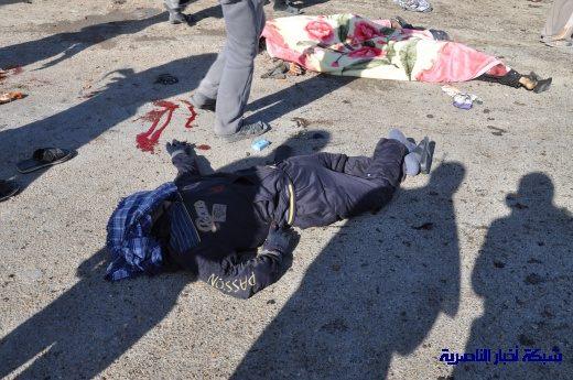 صور حصرية التقطت بعد لحظات من وقوع الانفجار الارهابي في مدينة البطحاء Nasiriyah040